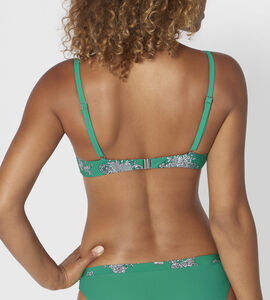 CHARM ELEGANCE Top de bikini con aro y relleno