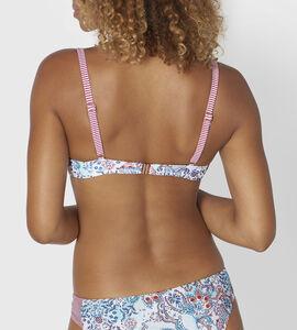 RIAD PAISLEY Top de bikini con aro y relleno
